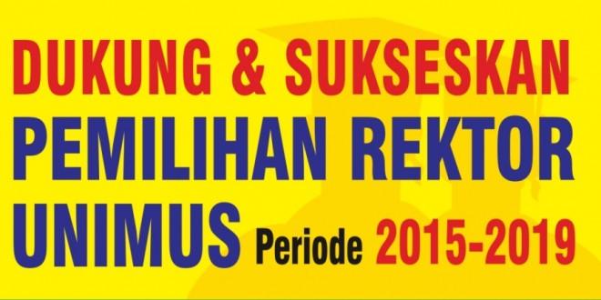 Pemilihan Rektor Unimus Periode 2015-2019