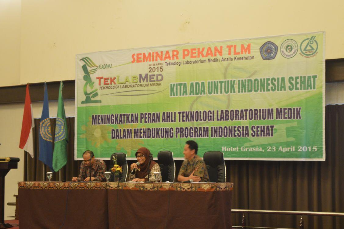 Seminar Analis Kesehatan   Teknologi Laboratorium Medik