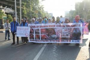 Aksi long march