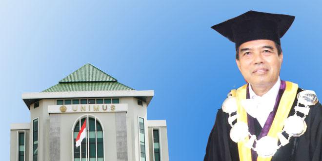 Sosok Rektor Unimus Terpilih (2015-2019) Prof. Dr. Masrukhi, M.Pd. (Profesor Sang Udtadz)