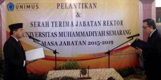 Selamat dan Sukses Pelantikan Rektor Periode 2015-2019