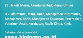 Lowongan PT Bio Farma untuk Alumni UNIMUS
