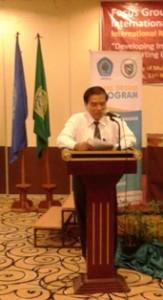 Rektor Unimus, Prof.Dr.H. Masrukhi.M.Pd.