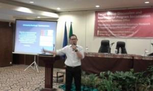 Adhrian Refaddin.SIP.MPP, Deputy Kemenristek Dikti RI