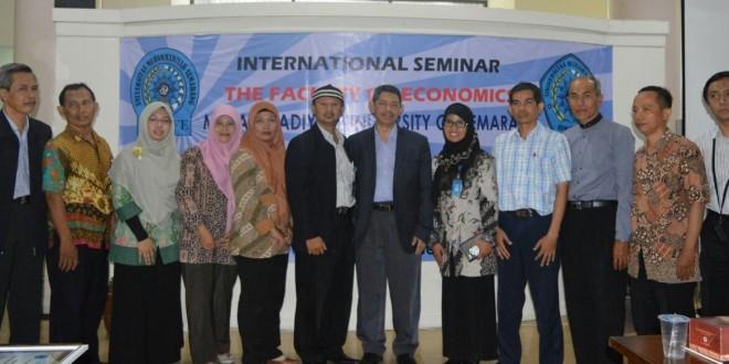 Seminar Internasional Ekonomi Islam | Islamic Binking Opportunity and Challenger
