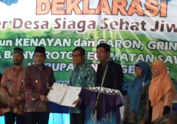 Bupati Magelang Zaenal Arifin SIP dan Warek I UNIMUS Dr Nurrahman