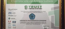 Unimus Mendapatkan Sertifikat Apresiasi Smart Campus | Kampus berbasis Teknologi Informasi