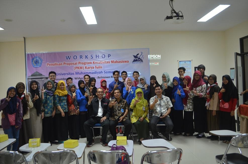 Workshop Kemahasiswaan dengan Narasumber Dirjen Belmawa Kemenristek Dikti