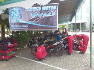 Service Motor Gratis Mahasiswa Teknik Mesin Unimus 2016