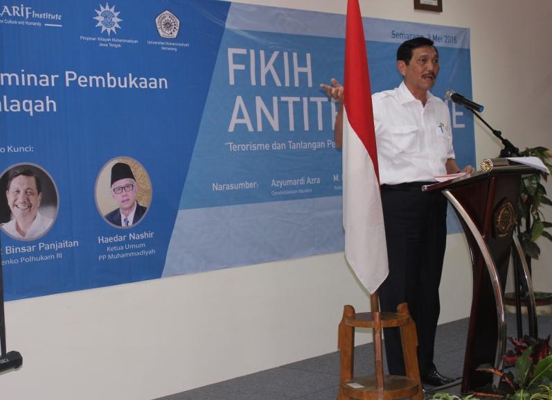 Keynote speech oleh Menko Polhukam