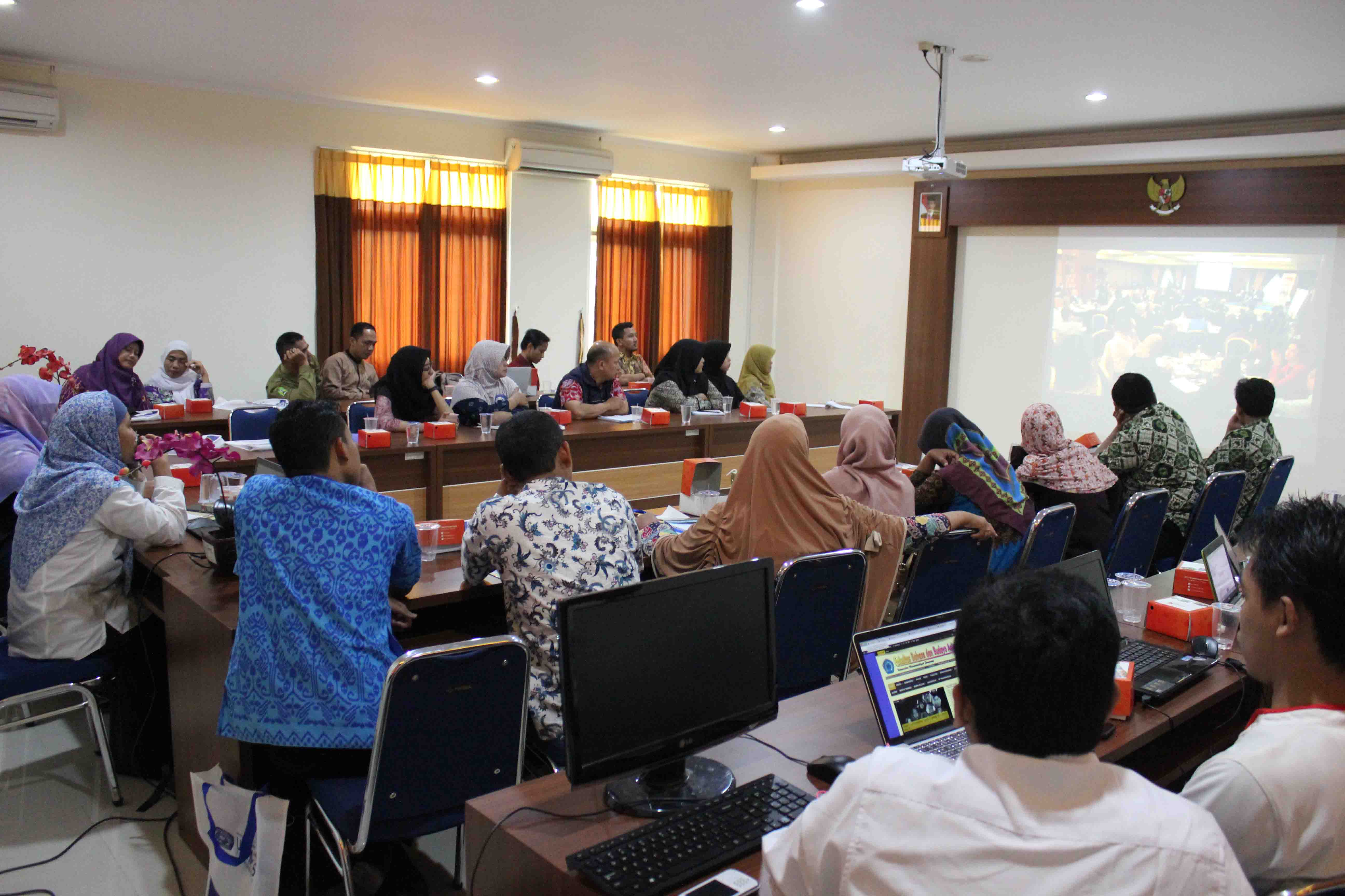 Sesi video conference