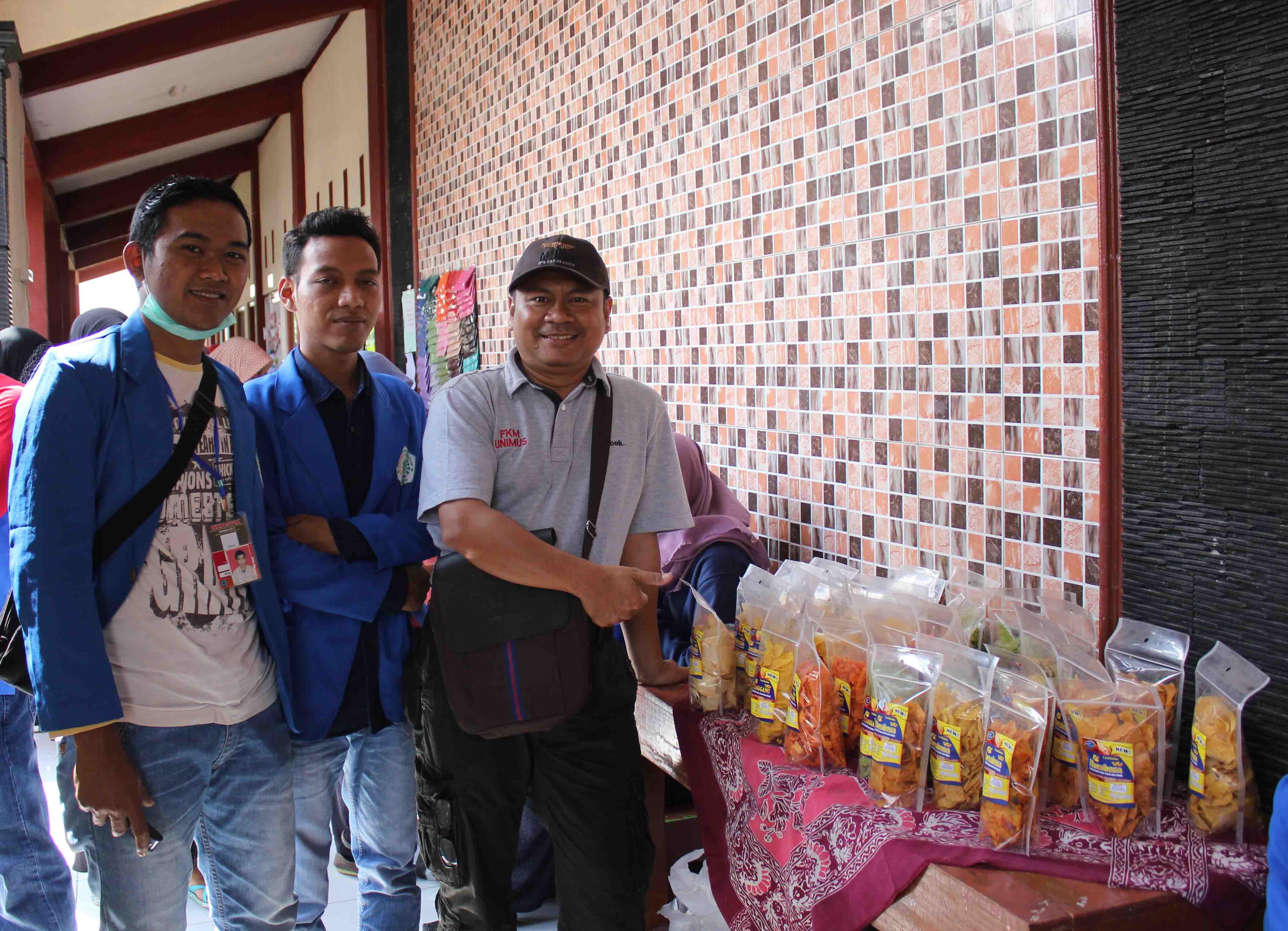 Produk hasil Karya Mahasiswa KKN dengan memanfaatkan Hasil Potensi Desa
