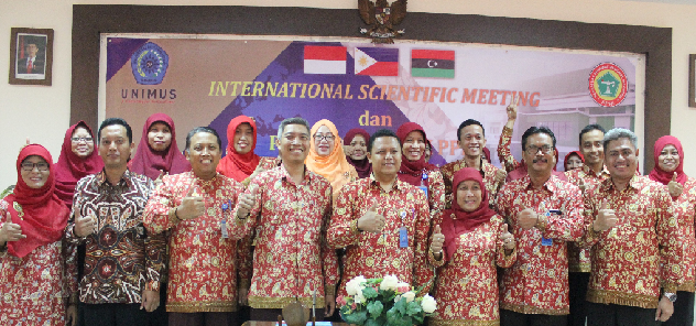 DPK PPNI Unimus bersama Dekan Fikkes, DPW PPNI Kota Semarang dan DPD PPNI Provinsi Jawa Tengah