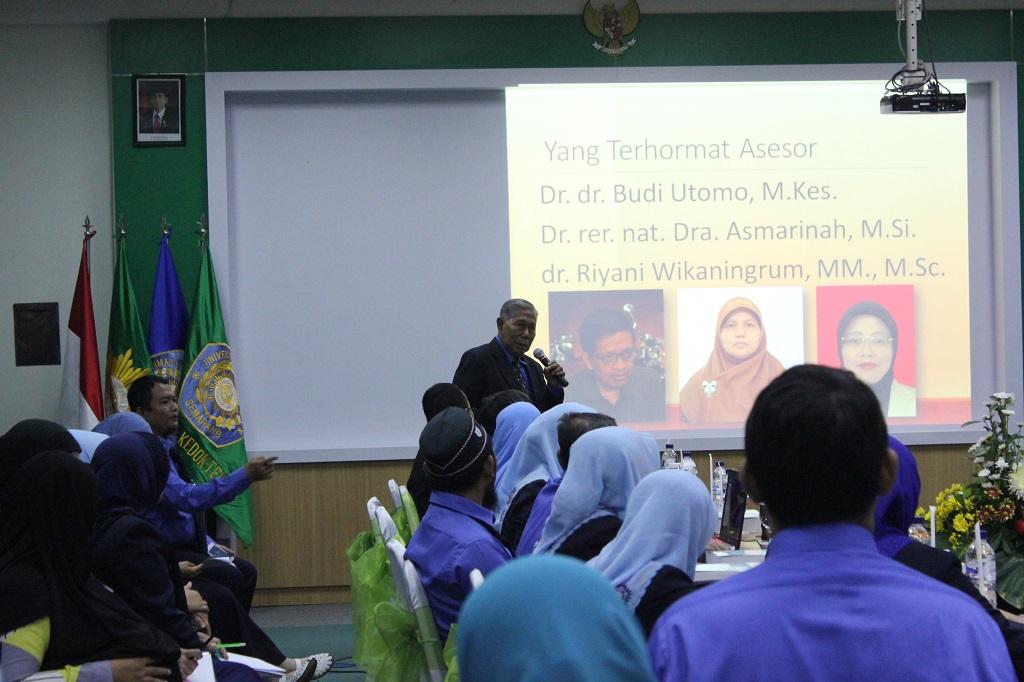 Paparan oleh Dekan Fakultas Kedokteran (Prof. Dr. Rifki Muslim., Sp.B., Sp.U)