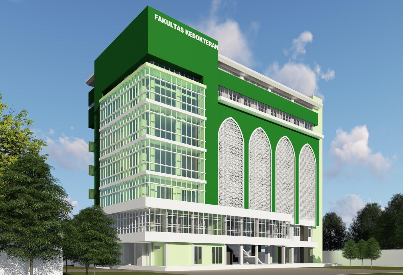 Gedung Fakultas Kedokteran Unimus