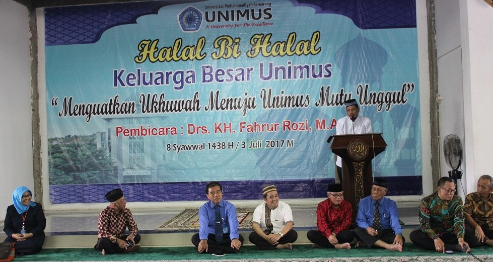 Tausiyah dari Drs.KH. Fahrur Rozi, M.Ag